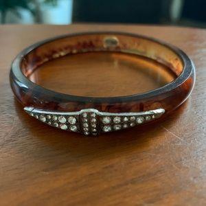 Lulu Frost x J Crew tortoiseshell bracelet